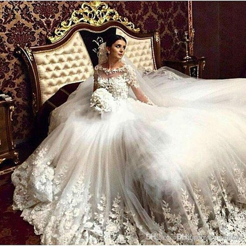 Discount 2017 romantic victorian wedding dresses scoop vintage discount 2017 romantic victorian wedding dresses scoop vintage long sleeves arabic muslim islamic wedding gowns lace appliques bridal dress lace wedding junglespirit Images