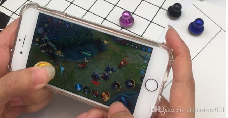 Teléfono celular móvil Juego Joystick Barato Mini juego Rocker Pantalla táctil Joypad Tableta Sucker Controlador de juegos para iPad iPhone teléfono celular