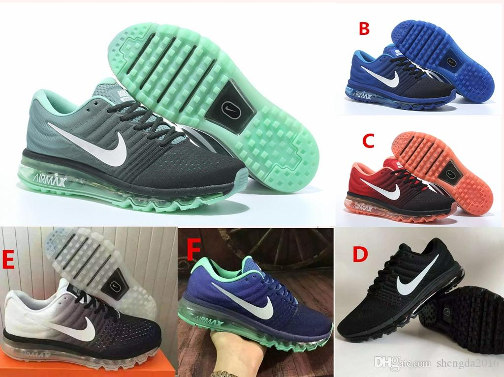 fb75ded9fa 2019 AIR MAX 2017 Unisex Release Men Women Running Shoes Mint Green / Dark  Green /Black Red High Quality Sports Shoes From Shengda2016, $42.11 | DHgate .Com