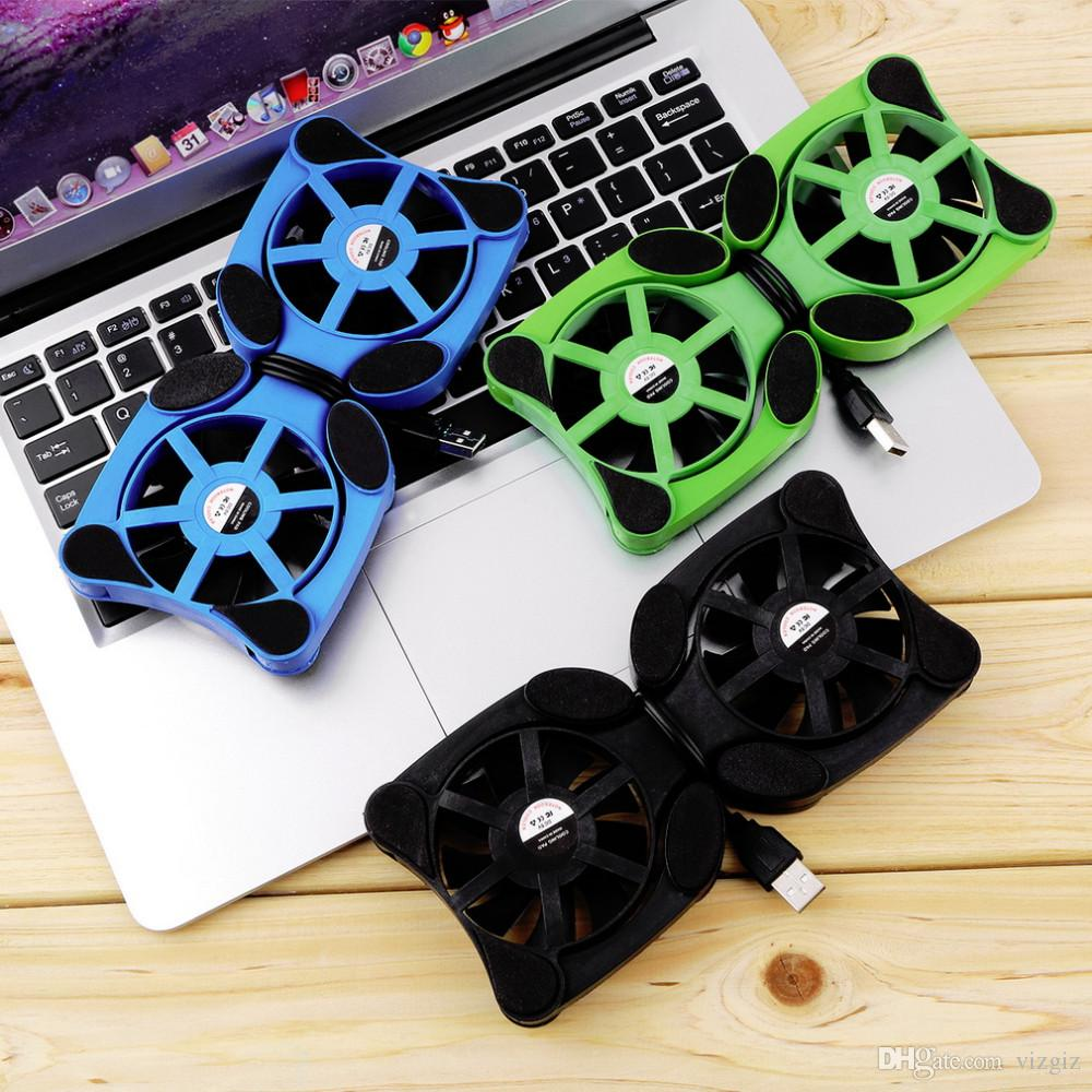 USB Port Mini Octopus Notebook Fan Cooler Cooling Pad For 14 INCH Laptop MB