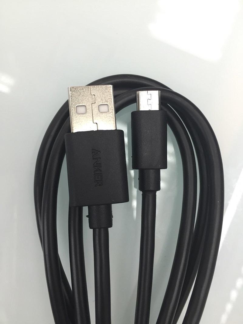 Cavo Micro USB Anker V8 3ft Samsung cavo Android Cavo Micro Sincronizzazione dati Caricabatterie Adattatore cavo TYPE C con scatola DHL Free CAB170
