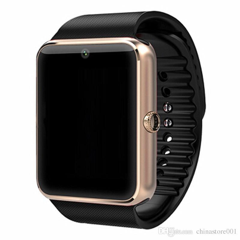 9acfd54bb Compre 2017 Mais Recente Gt08 Smartwatch A1 Dz09 U8 Bluetooth Smart Watch  Phone Para Samsung Galaxy Smartphone Android Pedômetro Sono Monitoramento  De ...