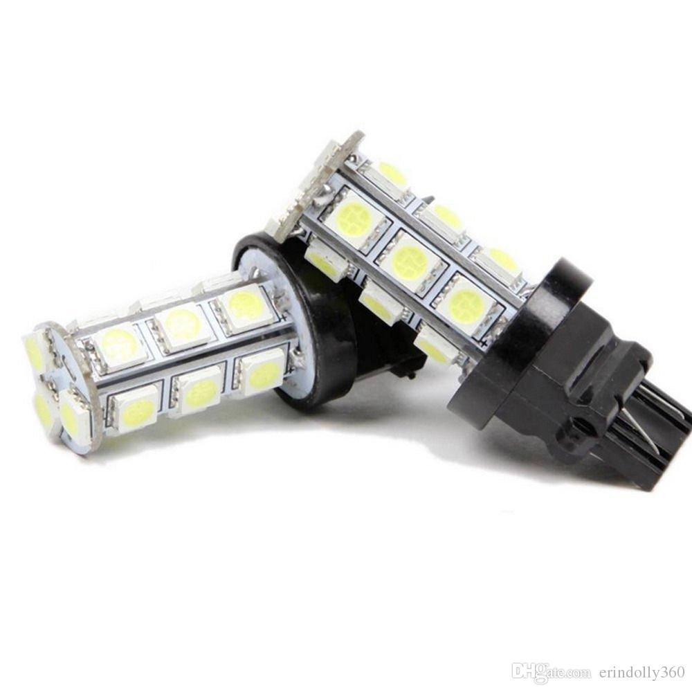 T20 18-SMD 5050 LED Stop Coda Freno Reverse Backup Car Light Turn Lampadina del segnale