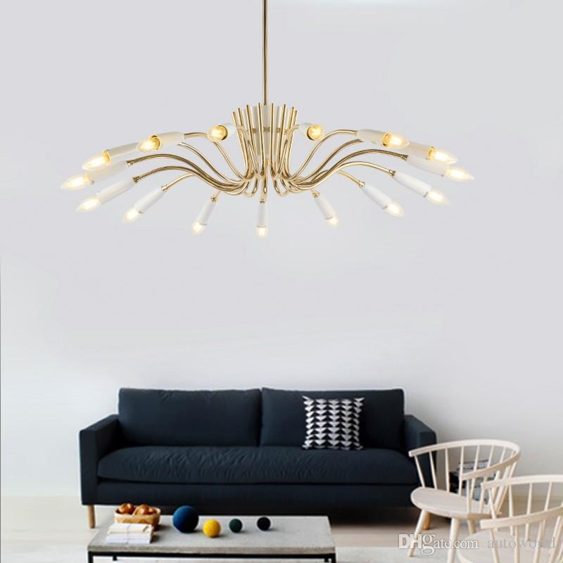 Discount Delightfull Aretha Pendant Light Postmodern Personality Suspension L& Dining Room Light Fitting Led Wrought Iron 15/18 Lights Lt Schoolhouse ... & Discount Delightfull Aretha Pendant Light Postmodern Personality ... azcodes.com