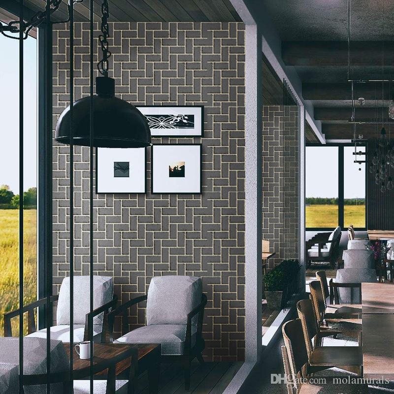 self adhesive vinyl wallpaper brick texture wallpaper rolls wall