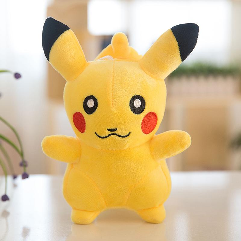 20-23cm Figure Stuffed Plus Dolls Toys New Pikachu Squirtle Cartoon Charmander Toys Christmas Gifts For Children PX-T10