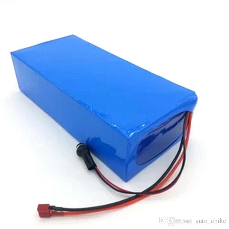 Pack de batterie Li-ion de haute qualité bricolage 48V 15Ah de droit de douane avec chargeur 2A