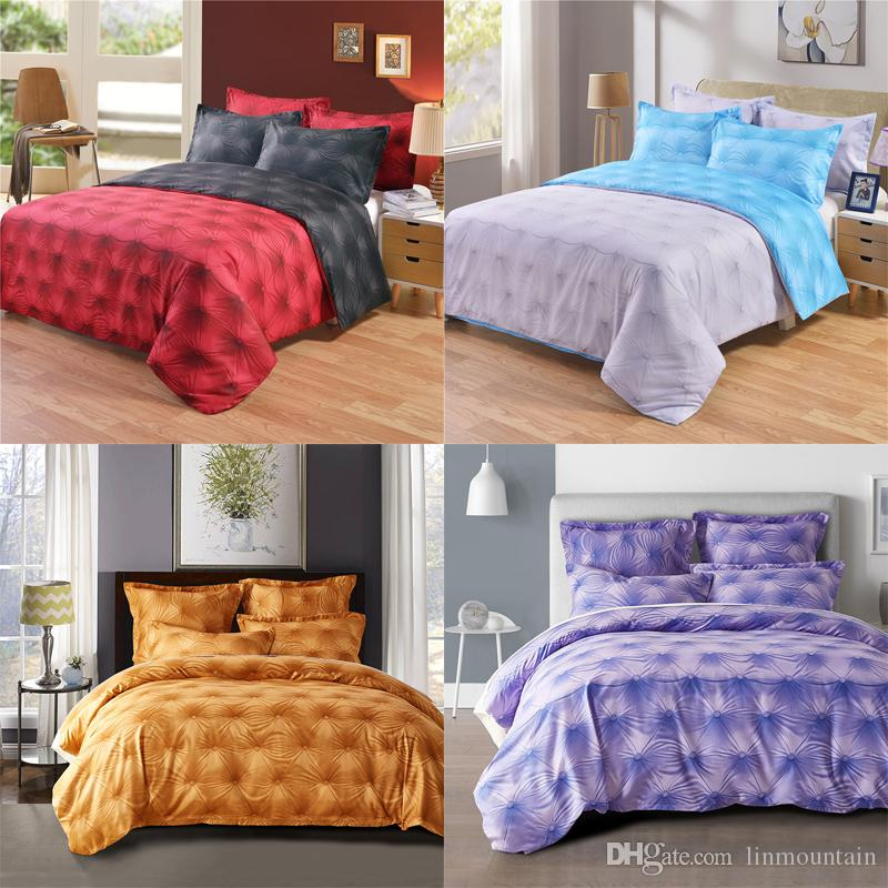 Wholesale 3d Bedding Set Pillowcase Printed Duvet Cover Linen Flat