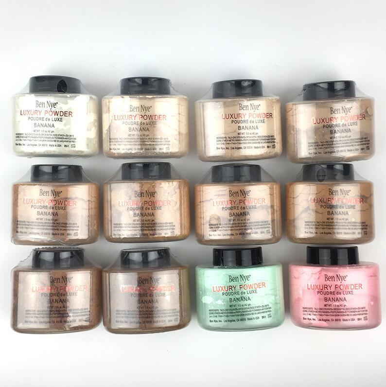 Brand new Ben Nye banana Luxury powder pouder de luxe loose powder 1.5OZ 42g for face beauty cosmetics