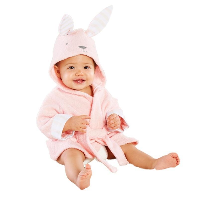 baby kids Hooded Animal modeling Cloak Baby Accappatoio Asciugamano il bagno dei cartoni animati