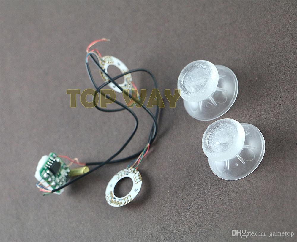 플레이 스테이션 4 PS4 용 DIY 액세서리 발광 패널 XBOX ONE 컨트롤러 용 발광 플레이트