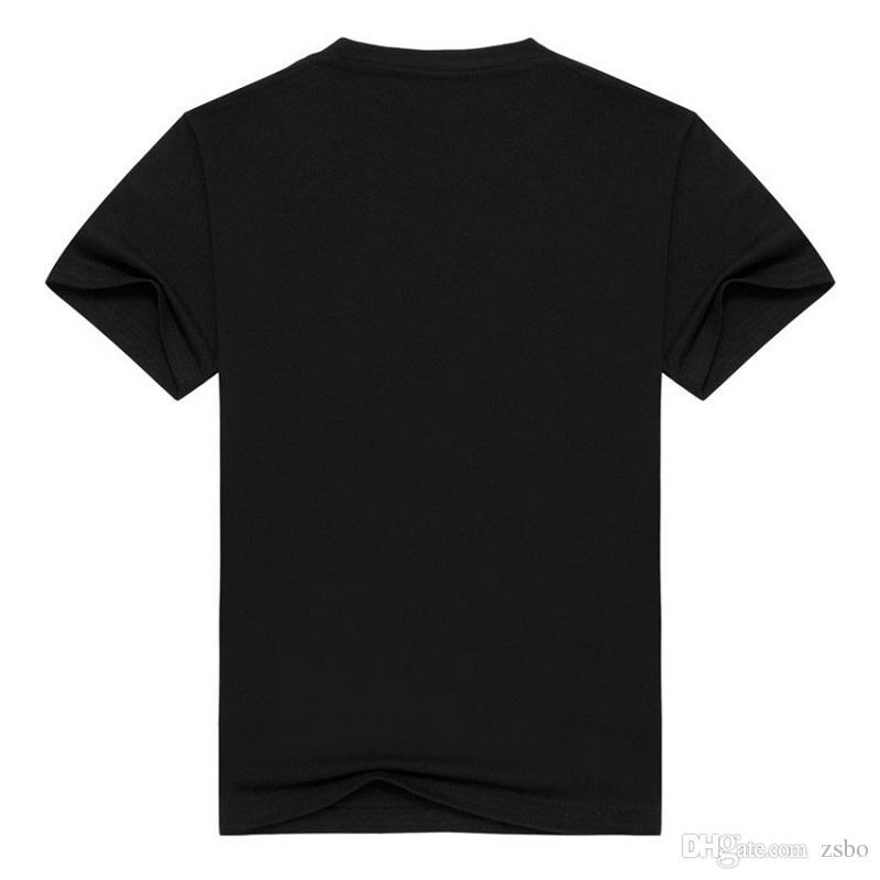 Halloween Mode streetwear Chucky männer 3d Lustige t-shirt schwarz kurzarm kleidung t-shirt oansatz lose fit Tops männer t-shirt BMTX29 F