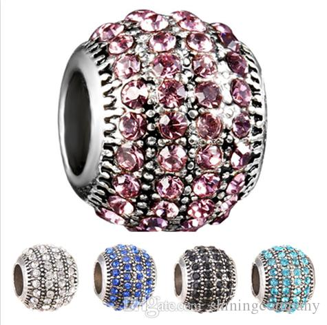 Jewelry & Accessories Spinner 2017 New Colorful Designs Silver Plated Dangling Charm Beads Fit Pandora Charm Bracelets&bangles For Women Diy Jewelry Choice Materials Beads