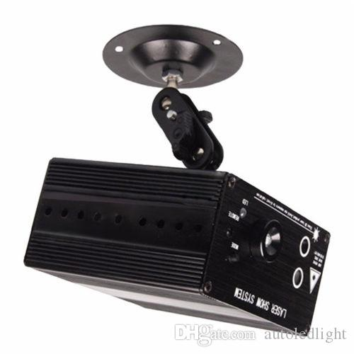 LED Laser Bühnenbeleuchtung Vollfarbe RGB 48 Muster RG Mini Led Laser Projektor Lichteffekt Zeigen Für DJ Disco Party Licht