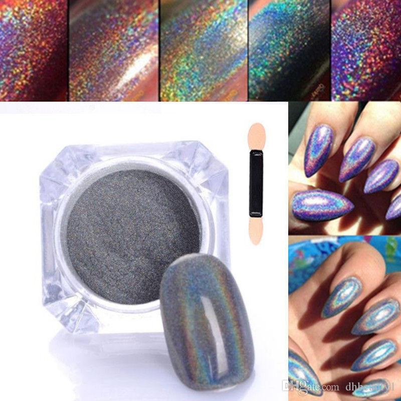 Factory price laser silver shinning nail glitter opi uv nail art see larger image prinsesfo Image collections