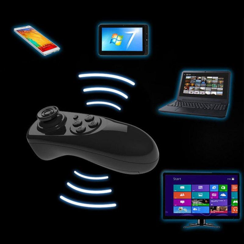 Wholesale-Wireless Bluetooth Gamepad Game Remote Controller Joystick Selfie Remote Shutter Wireless Mouse For iPhone IOS Samsung Android