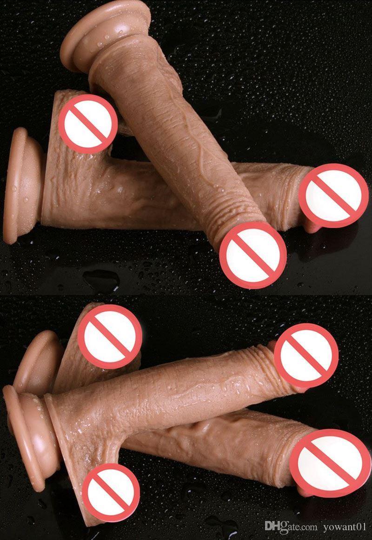 Giocattoli del sesso, dildo, Dongs enorme manualmente Masturbazione dildo Super stimolare una forte aspirazione fino Dildo Dongs Sex Toys adulti