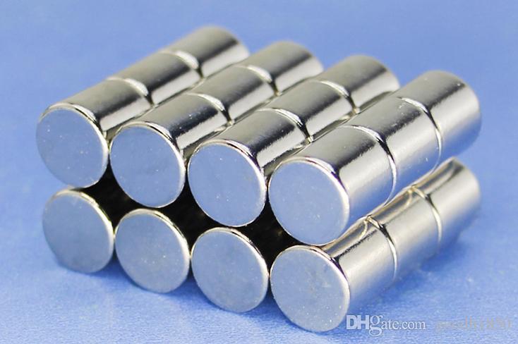 Vendo magnete duro da borsa, 10 pezzi sacchetto magnete N35 di dimensioni 10 * 10mm, magnete industriale, magnete quotidiano,