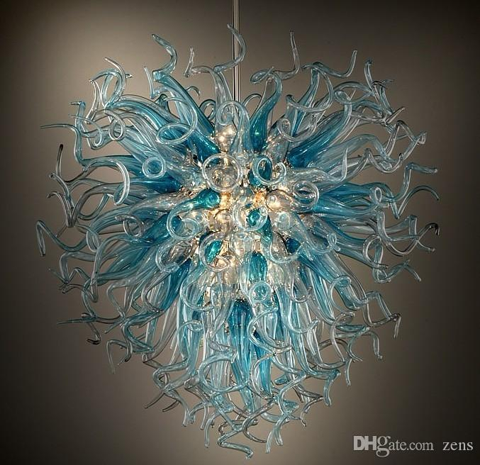 100 Hand Blown Glass Italian Chandeliers Flower Lighting