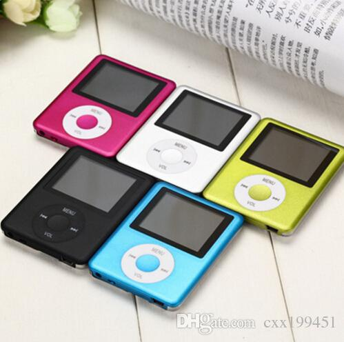 "Brand New 3th MP3 MP4 Super Slim 1.8"" LCD Display Screen Music Player Support TF SD Card Fun Gifts"