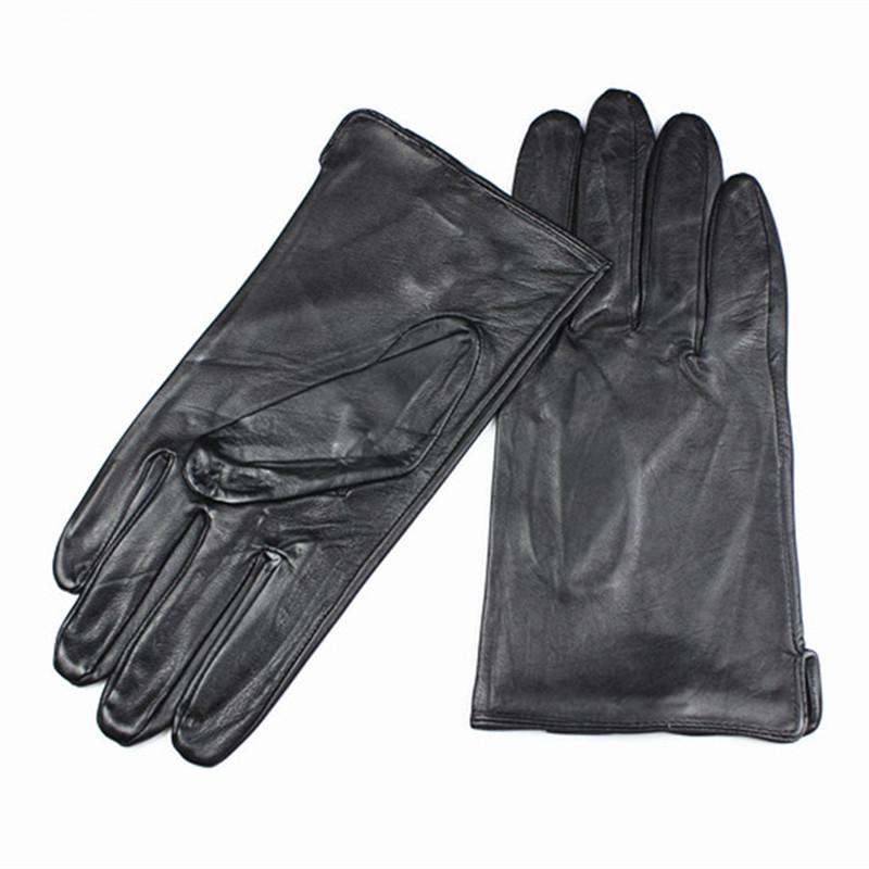 c90a34e371dd0 2019 Wholesale 2017 Eldiven Leather Gloves Men'S High Grade Quality  Imported Sheepskin Without Lining Straight Style Car Spring And Autumn From  Heathere, ...