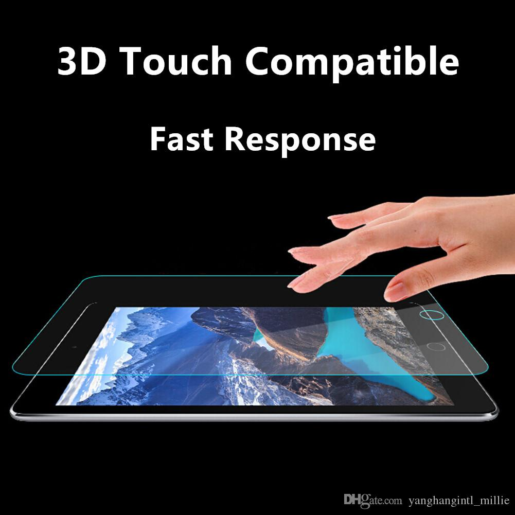 Ipad Mini Explosion Proof Tempered Glass Screen Protector for iPad Mini 4 Apple Pencil Compatible 2.5D Safe Round Edge Anti-Scratch-YH0297
