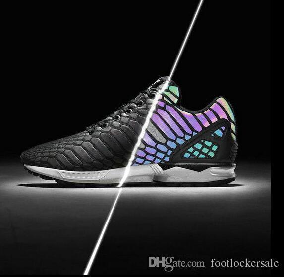 9e4475934 ... uk retail zx flux xeno the chameleon mens and womens shoes reflective  black snake shoes sneakers