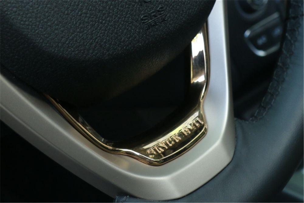 1 UNIDS ABS Volante Cubierta Ajuste Para Jeep Grand Cherokee / Cherokee 2014-2016