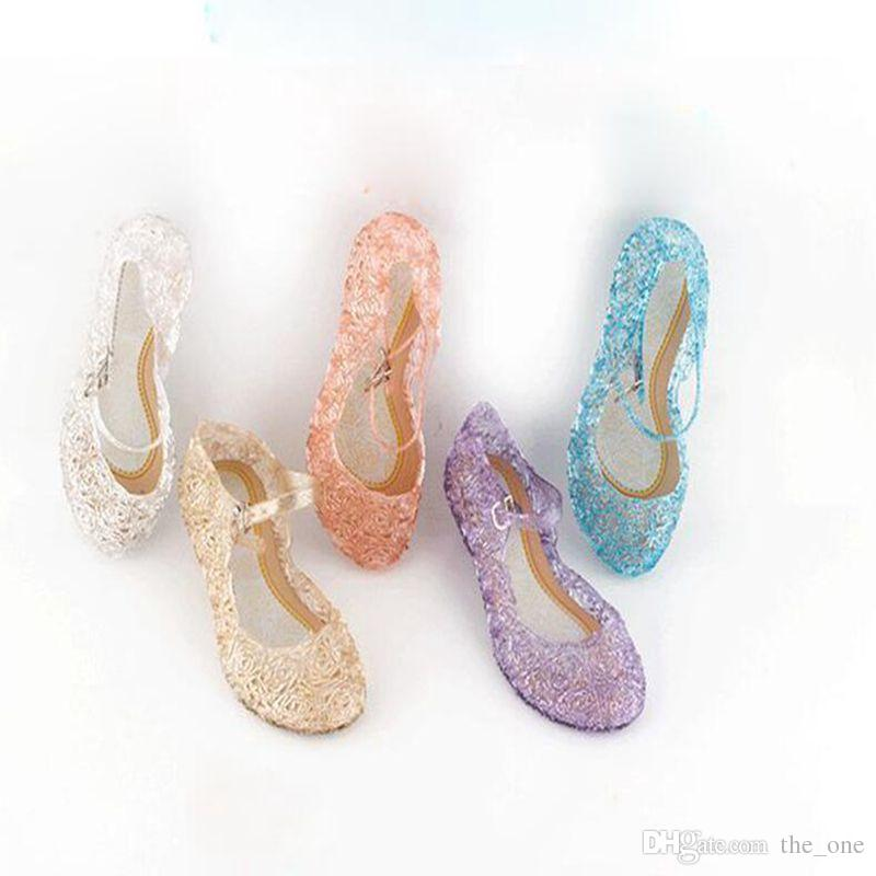 e64de85b79d81 New Kids Shoes Girl Princess Shoes Blue Crystal Sandals Girls Cosplay Shoes  Blue PVC Hole Snowflake Sandal Kids Buy Toddler Shoes Shoes For Baby From  ...