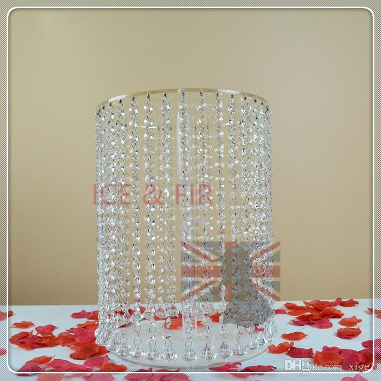 Cake Decorating Supplies Festive & Party Supplies Big Tall Cake Stand Crystal Acrylic Cake Table Centerpieces Crystal Wedding Cake Holder Flower Display Dia=60cm 23.6 Modern Techniques