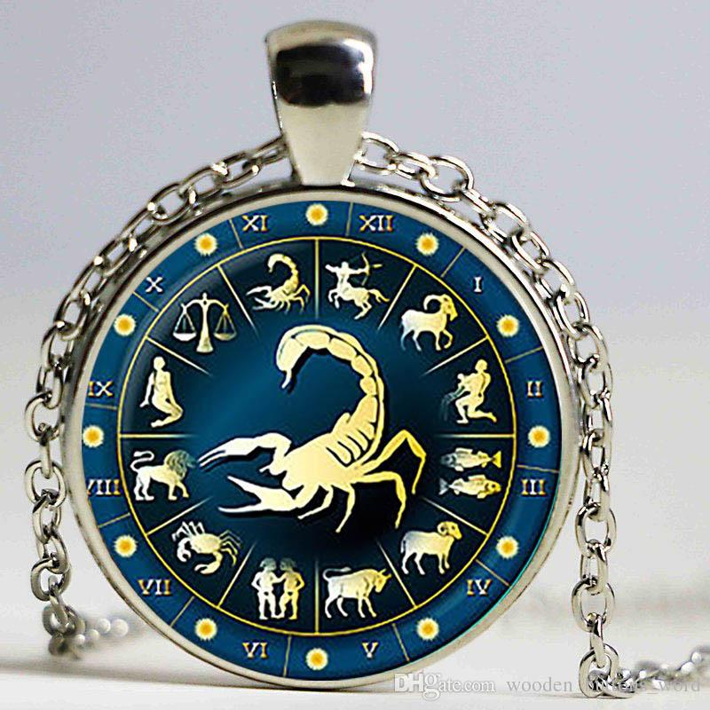 Wholesale scorpio glass zodiac pendant scorpio ecklace charm wholesale scorpio glass zodiac pendant scorpio ecklace charm scorpio jewelry birthday gift astrologychristmas gift pearl necklace necklace from mozeypictures Gallery