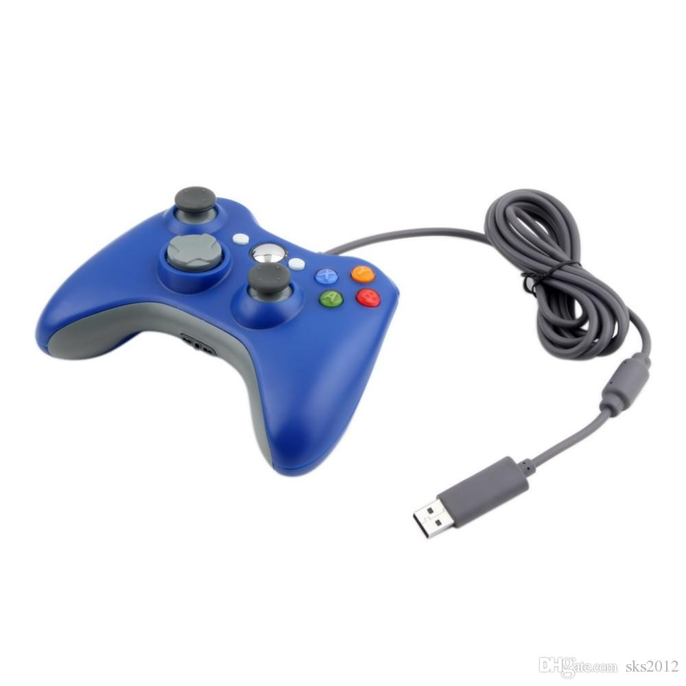 USB Wired Joypad Gamepad Controller For Microsoft or Xbox Slim 360 and PC for Windows7 Joystick Gamepad Controller