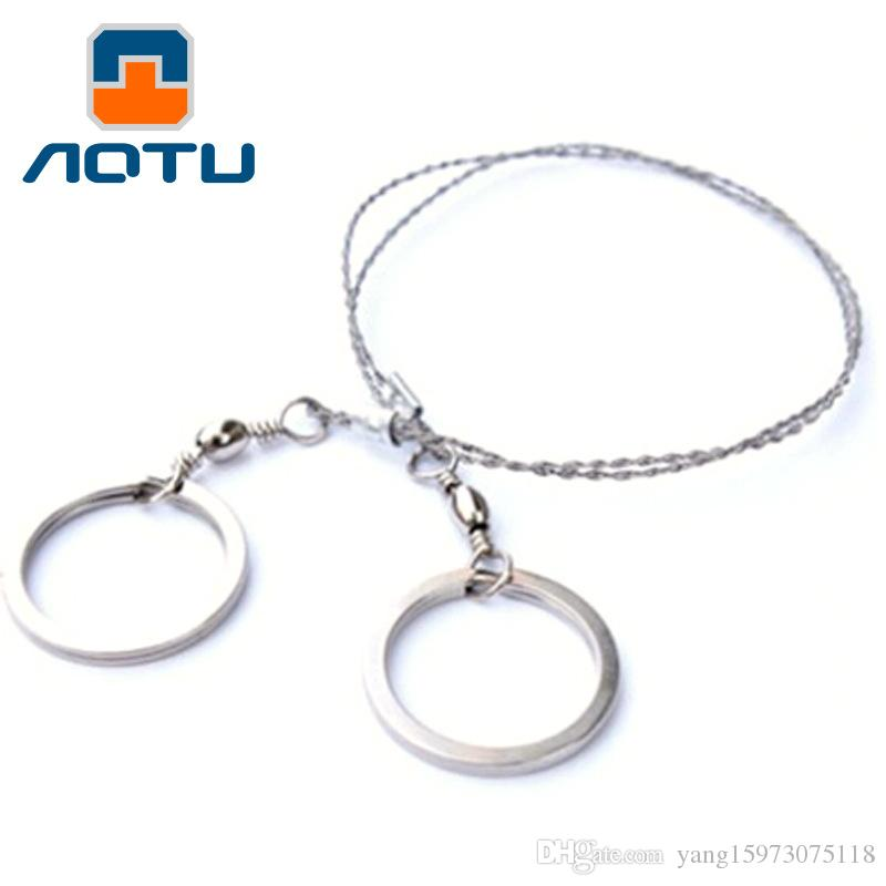 Aotu Outdoor Rescue Tool Survival Wire Saw Chain Wire Saw Fret Saws ...