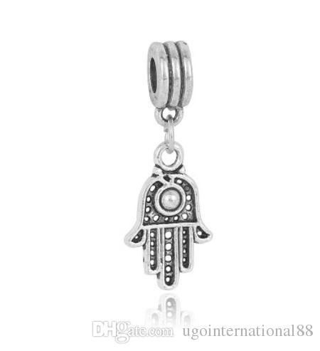 cd2a3a09f 2019 Fits Pandora Bracelets Turkey Eye Evil Eye Dangle Silver Charm Beads  Charms For Wholesale Diy European Necklace Snake Chain Bracelet From ...