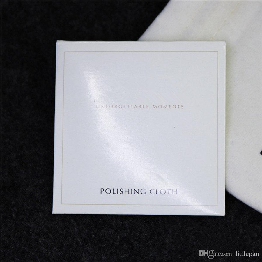 2018 925 Sterling Silver Polishing Cloth European Style