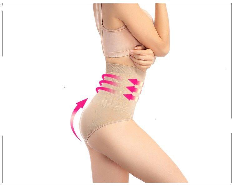 334d096f92 Wholesale-High Quality Brand Plus Size Black Slimming Tummy Knickers Waist  Girdle Hip Shapewear Pants Body Shaper Underwear Postpartum Online with ...