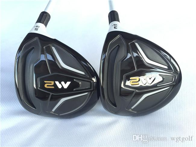M2 Fairway Woods M2 Golf Woods High Quality Golf Clubs #3/#5 Graphite Shaft With Head Cover