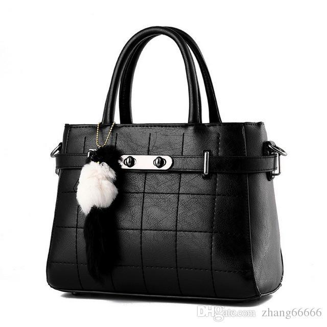 40bd8e76c31 Women Bag Pu Leather Tote Bag Ladies Handbag Lady Bags Solid Female  Messenger Bags Travel Fashion Sac Leather Handbag Shoulder Bags Messenger  Bags Online ...