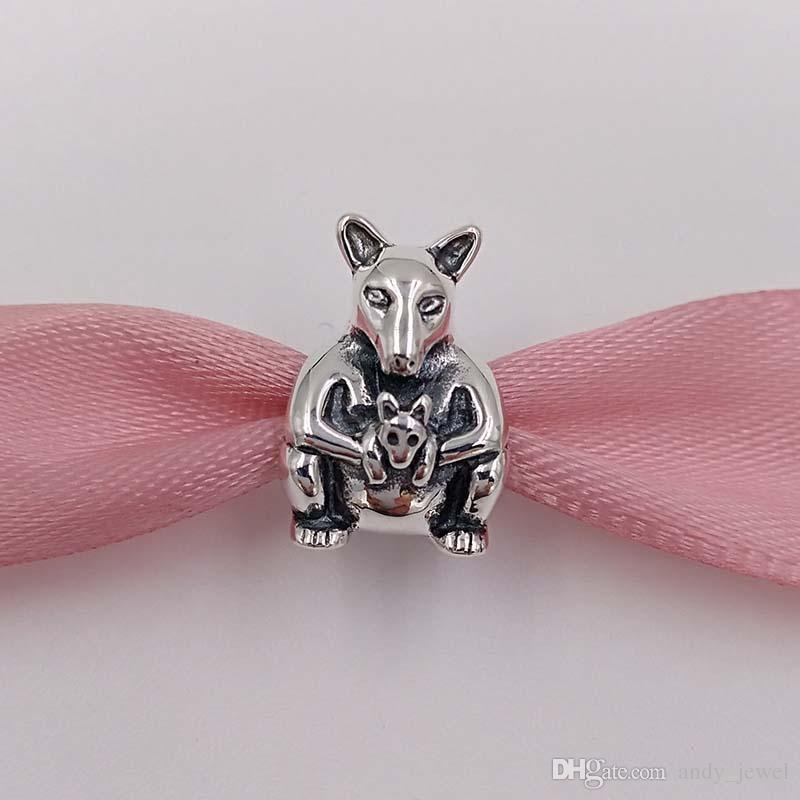 4440d17cb 2019 925 Silver Beads Kangaroo & Baby Charm Fits European Pandora Style  Jewelry Bracelets & Necklace 790534 For Australia Jewelry Making From  Andy_jewel, ...
