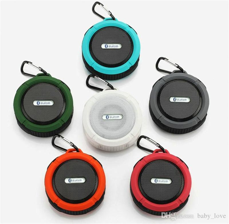 3e340e59eb2 2019 C6 Mini Portable Wireless Bluetooth Speaker With Calls Handsfree And  Suction Cup Waterproof Bluetooth Shower Speaker From Baby_love, $5.4 |  DHgate.Com
