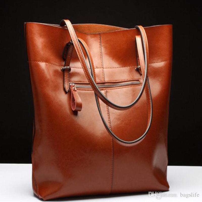 6116b43f0a28c1 Women Messenger Shoulder Bag Big PU Leather Bag Female Genuine Black Handbag  Lady Tote Crossbody Bag Sac A Main Femme De Marque Man Bags Crossbody  Purses ...