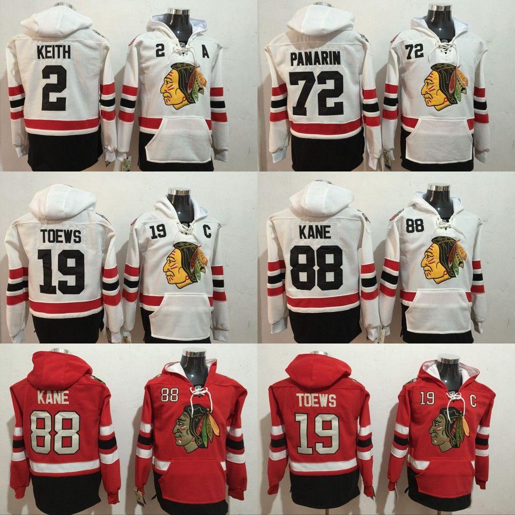 e3e197463 2019 2017 Winter Classic Premier  19 Jonathan Toews  88 Patrick Kane  2  Duncan Keith  72 Artemi Panarin Hockey Hoodies Chicago Blackhawks Jersey  From Jersey ...