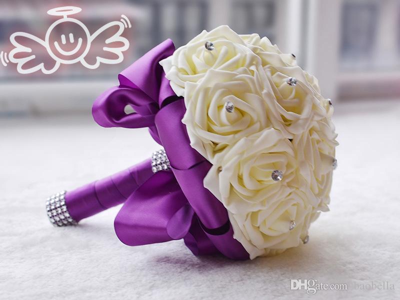 Свадебный букет из бисера купить #11