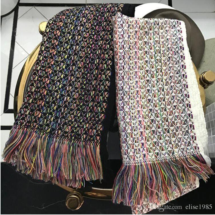 affordable femmes hiver mode cachemire laine tricot charpe charpes de luxe  charpes echarpe foulard femme de with laine tricoter pas cher 39017150d9b