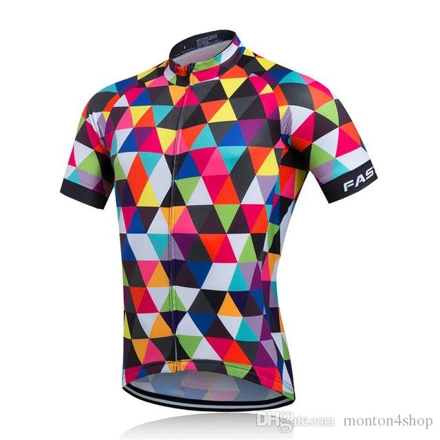 b35822f4c7e9 2018 New team cycling Jersey bicycle clothing Ropa De Ciclismo Men  Breathable 100% Polyester bike clothing for MTB