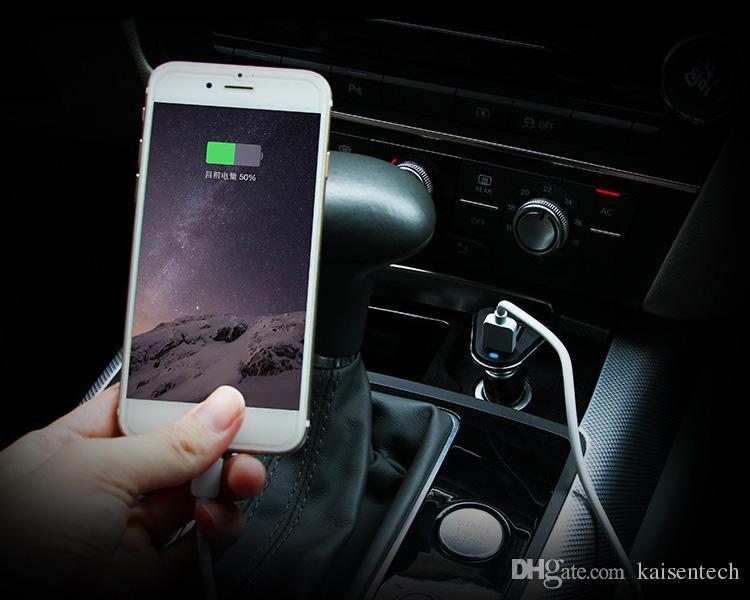 Universal-Auto-Ladegerät 2.1A 1A 3 Ports USB Car Charger Adapter Buchse für iPhone 6 7 Samsung Huawei XIAOMI Redmi LG Handy Auto Ladegerät