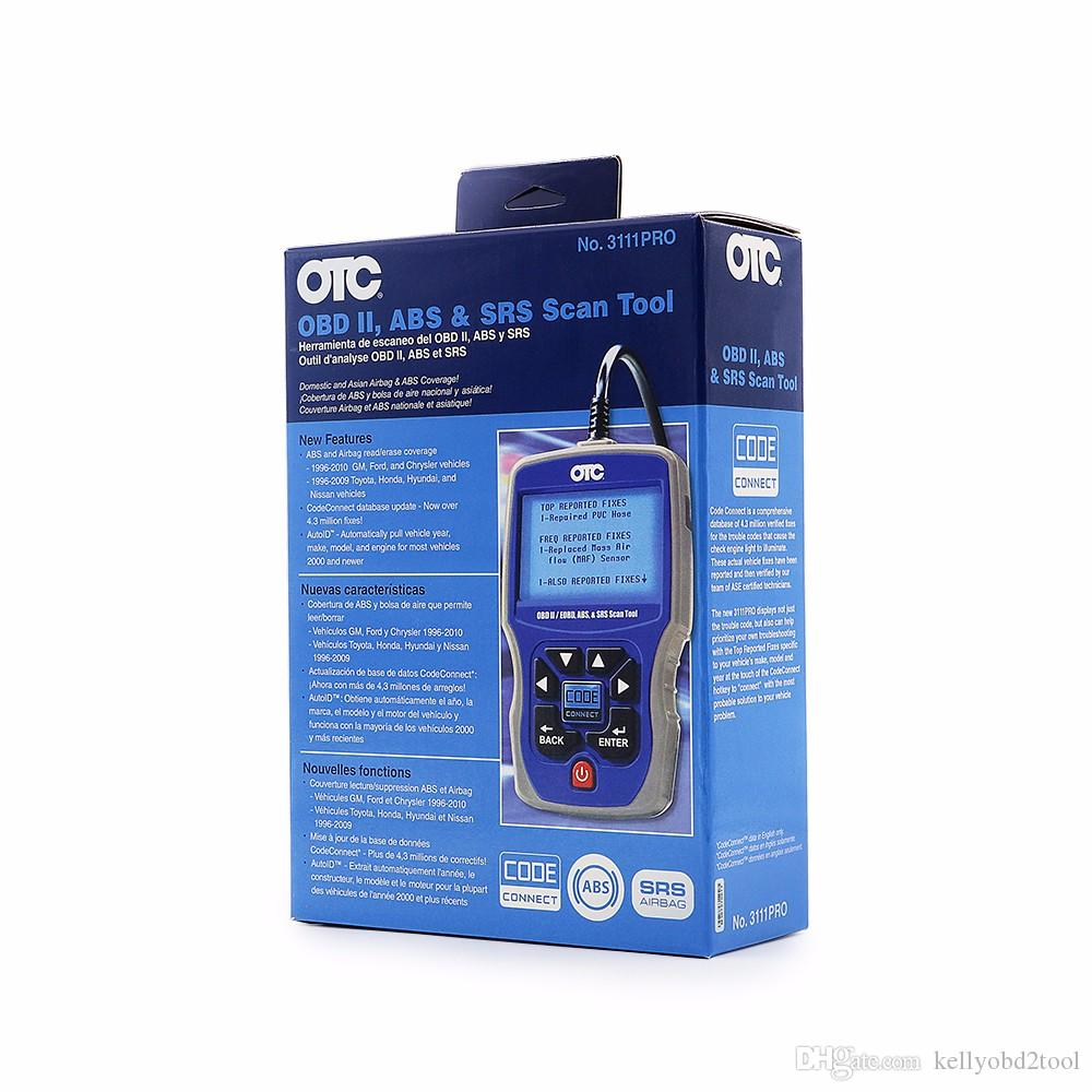 OTC 3111 PRO Trilingual Scan Tool OTC 3111Pro Scanner Compatible with all 1996 & Newer cars and Light trucks OBD2 Code Reader