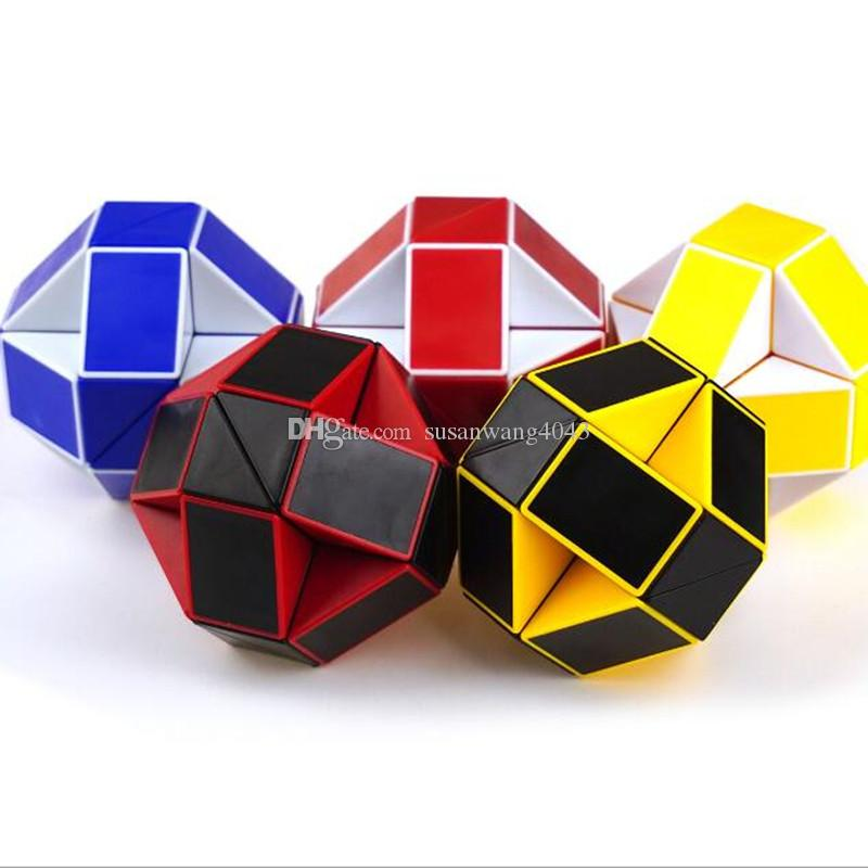 Aaa Magic Ruler Cube Puzzle Jigsaw 3d Snake Toys Children Education Intelligence Toy 24 Section Stick With Spring Dhl Usz131 Phone