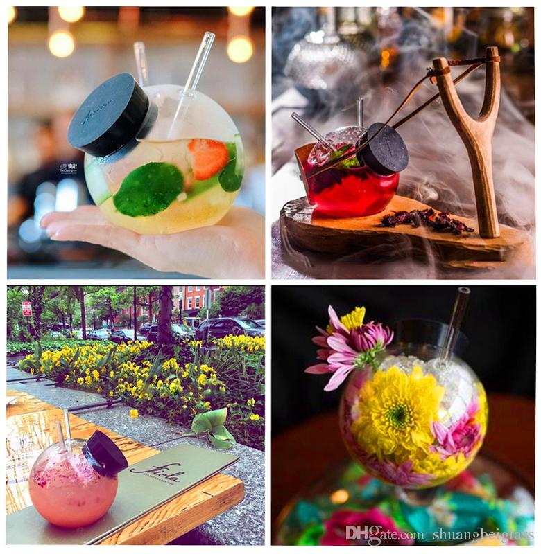 Cocktailgläser der hohen Qualität, kühle Kugel-Cocktail-kreativer Cup für den Bartrinkensaft-Whisky populär in der Restaurant-Bar-Partei