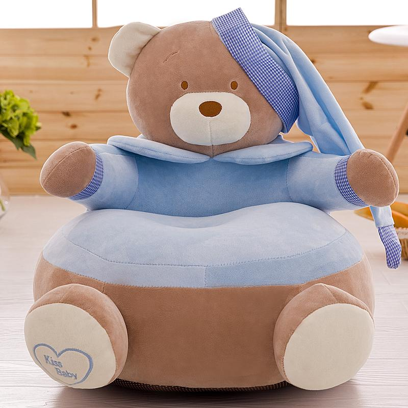 Lovely Bear Soft Sofa For 0~4 Years Old Kids, Cartoon Style Baby Chair ,  Cute Cartoon Design 45*45cm Child Sofa, Best Gifts , Baby Toy Soft Sofa  Baby Chair ...